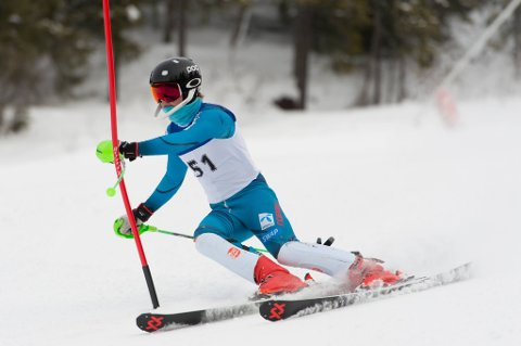 SEIER: Torjus Helgaker vant i slalåm.
