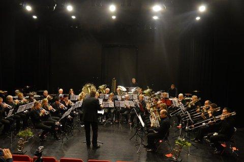 KLARE: Moen Musikkforening (bildet) og Brandbu skolekorps arrangerer Hedmark og Opplandsmesterskapet i musikk denne helga.