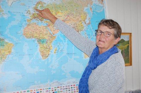 PENSJONIST: Åsa Bjertnæs går nå inn i pensjonistenes rekker. Hun kommer til å savne både elever og kolleger ved voksenopplæringa på Frøystad.