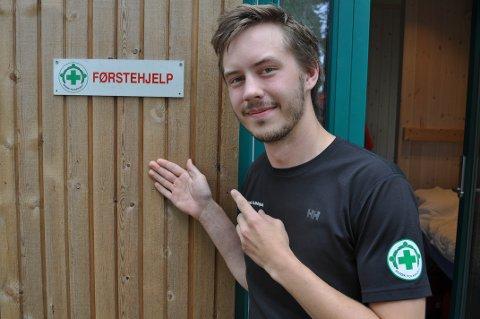 FØRSTEHJELPER: Per-Olav Balck Fjalestad forteller at han alltid har vært opptatt av å hjelpe andre.