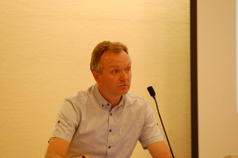 GIKK HARDT UT: Morten Hagen i Gran bygdeliste.
