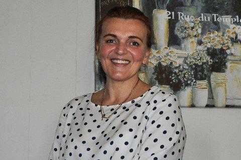 GODT HUMØR: Marina Smulska er en blid og hyggelig dame.
