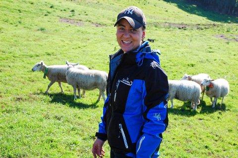 LIVSSTIL: – Å være bonde er en livsstil. Det er mye jobb, sier Kasia Treholt.