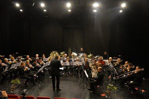 MESTERSKAP: Moen musikkforening (bildet) og Brandbu skolekorps arrangerer Hedmark- og Opplandsmesterskapet i musikk denne helga.