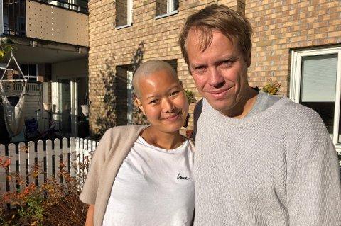 Står på: Dyanne Søraas (35) fikk diagnosen uhelbredelig lungekreft som 30-åring. Selv om legene har sagt at hun snart skal dø, nekter hun å gi opp. Ektemannen Lars Haakon Søraas har sagt opp jobben for å følge opp konas kreftbehandling.