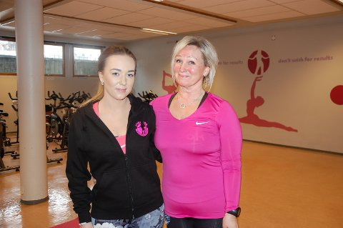 PARTNERE: Inger Marie Kristiansen (til venstre) og Tove Hærum Østby var eiere av Sving Inn på Gran.