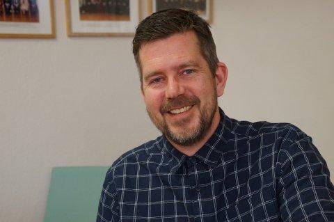 INNSTILT: Lasse Juliussen er ny rektor ved Lunner ungdomsskole.