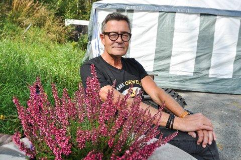 FINNER ROEN: På Hadeland finner Erling Bonnevie Hjort roen. Han har ingen planer om å flytte tilbake til Oslo.