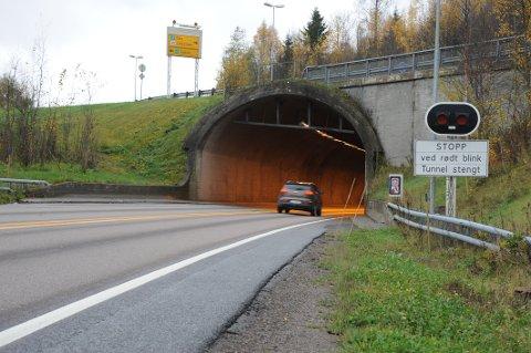 OMKJØRING: Trafikken vil bli dirigert via Nittedalsveien mens Hagantunnelen er stengt.