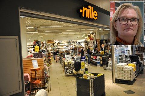 NY SJEF: Administrerende direktør Kjersti Hobøl synes det er hyggelig at så mange ønsker å bli butikksjef på Nille i Gran.