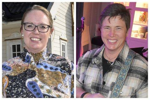 SØKERE: Heidi Lervåg (til venstre) og Elin Lien er to av elleve søkere til stillingen som HR-sjef i Gran kommune.