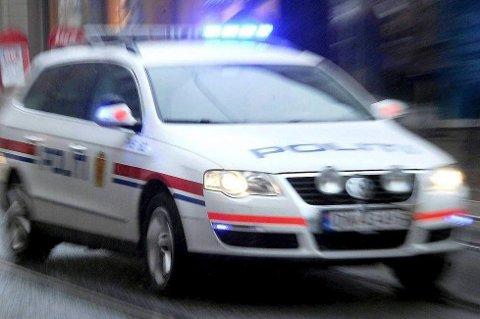 STOPPET: Politiet stoppet mannen.