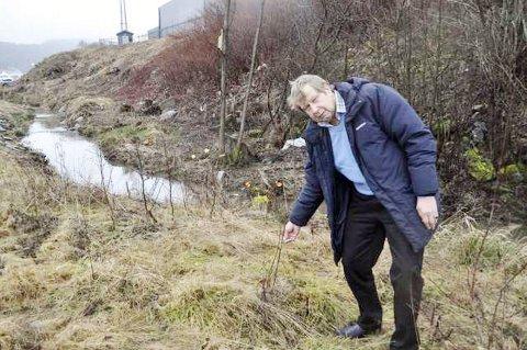Sommeren 2013 plantet Kjell-Roger Engh (bildet) 220 oretrær ved utløpet av Lundestadbekken. I februar 2015 oppdaget han at 200 av dem var kuttet ned. Nå har Fylkesmannen pålagt grunneier Lars Harlem å plante 100-200 nye trær i det samme området.