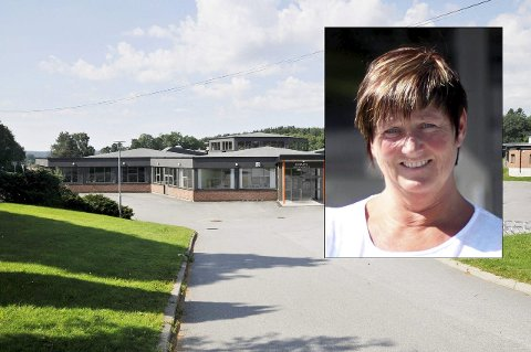 Sprengt skole: Rektor Rita Vik Amundsen forteller at Strupe skole vil være full allerede kommende skoleår og at kapasiteten vil være sprengt i 2017. Da har hun ikke nok klasserom til å huse alle elever.Arkivfoto