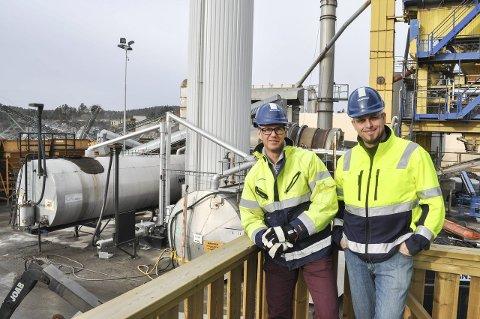 STORKONTRAKT: Distriktssjef Andreas Westander (til venstre) og prosjektleder Henrik Engh kan glede seg over en kontrakt verd 39 millioner.