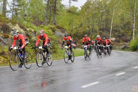 Halden CK XP satt full fart helt fra starten på Svinesund.