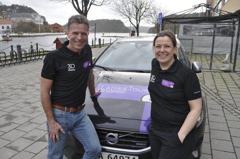 Rittledere: Roy Moberg og Heidi Stenbock-Haakestad håper på ny folkefest i Halden fra 14.–16. august.