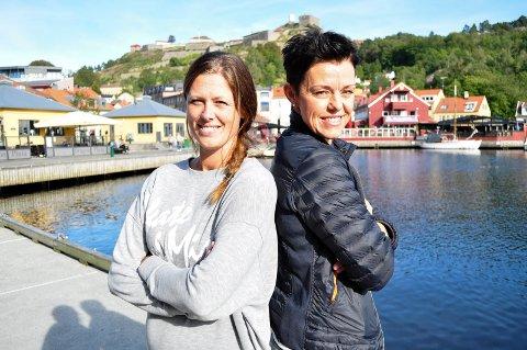 HAs håndballeksperter Nina Staal og Connie Hansen.  Foto: Atle Wester Larsen
