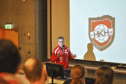 VETERAN: Hans Eriksen var leder i HHK i en årrekke fram til vårens årsmøte.