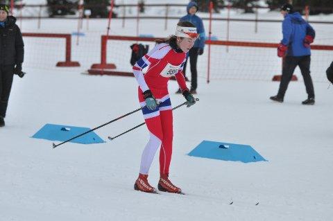 Martine Svendsby var kjempefornøyd.
