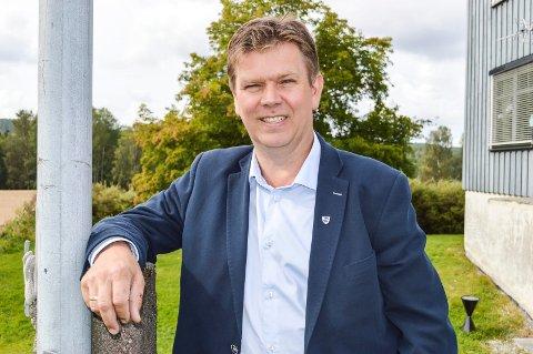 ER SKREMT: – Hver fjerde velger i Aremark er ikke opptatt av sentraliseringspolitikken og reformpolitikken som føres. Det er skremmende, sier Geir Aarbu, som lurer på om de synes det er greit at Aremark blir hetende Halden i framtida.