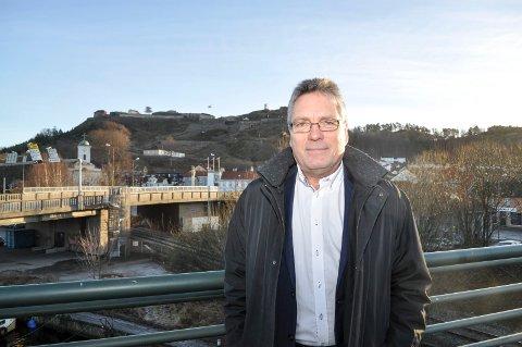 BEKLAGER: – En datafeil har gjort at Halden kommune har mistet fire uker i saksbehandlingen av sentrumsplanen, sier ordfører Thor Edquist.