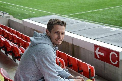 FORSLAG: Joacim Heier kom med forslaget om å flytte hjemmekampene til Kviks a-lag fra Halden stadion til Strupe.