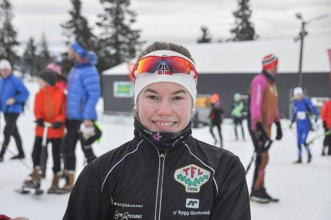 Martine Svendsby imponerte i sitt første Birkebeinerrenn.