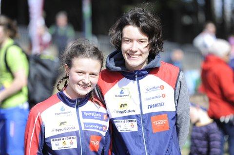 Hedda og Håkon Raadal Bjørlo har nådd langt som o-løpere, men ønsker å bli enda bedre.
