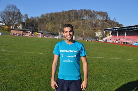 Mohammad Taamari ønsker seg norske venner.