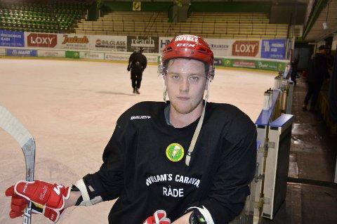 Martin Bjørsland er klar for en ny sesong i Comet-drakta.