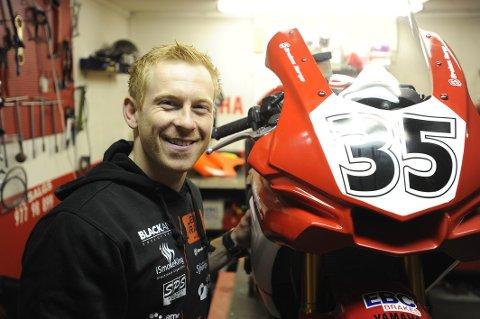 Stig Flemming Jensen håper å kjøre til topp fem på Rudskogen, i det som for han blir årets første løpshelg.