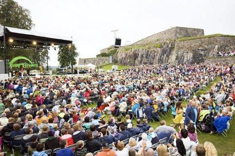 MER SANG: Kommunen ønsker å støtte Allsang på Grensen ennå to år fram i tid.
