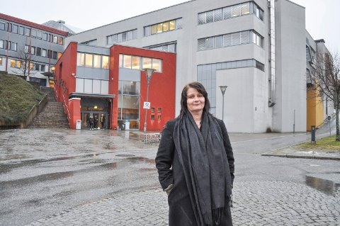 GLAD: Leder i Halden Ap, Kirsti Brække Myrli, er svært fornøyd med at reåresentantskapet i Østfold Ap sier nei til skolekutt i Halden og vil sikre utbygging på Porsnes.