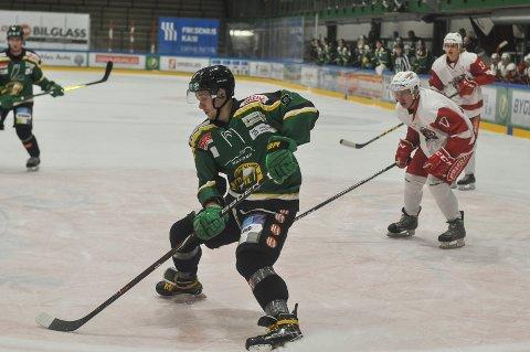 TO MÅL: Paulius Gintautas noterte seg for to scoringer mot Tønsberg.