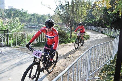 5. PLASS: Ingrid Bøe Jacobsen jaktet på VM-medalje, men ble nummer fem i Chengdu, Kina fredag.