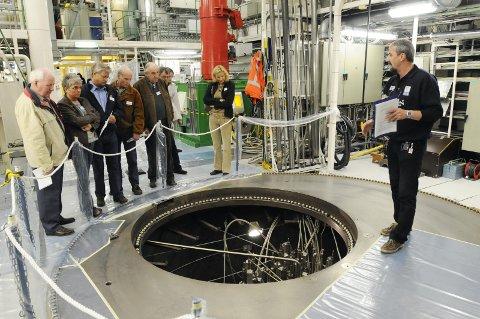 Reaktorhallen i Halden.