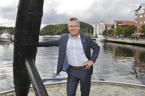 VERDIER: Halden kommune eier 7,14 prosent av aksjene til Østfold Energi. Thor Edquist mener de verdiene tilhører Halden kommune, og er redd for at utbyttet går til Viken.
