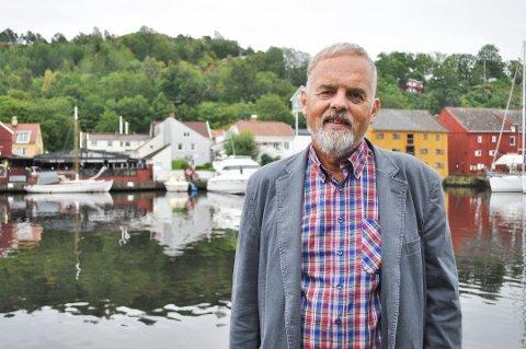 POSITIVT FOR HALDEN: Dagfinn Stærk, gruppeleder i Halden KrF, mener Viken-regionen kan bli positiv for Halden hvis Nedre Glomma får en mindre dominerende rolle enn hva som er tilfelle i Østfold.