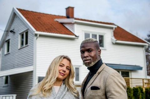 Sanne Sofie Hansen og Nathaniel Ayeh