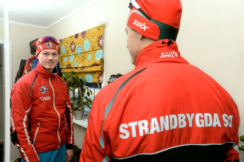 EN NY VERSJON AV DEN SAMME: Vegard Osvold jaktet mål og drømmer i skiløypa. Brått ble det et helt annet fokus for den skiglade 25-åringen.