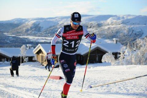 GOD START: Petter Stokkeland gikk inn til sine første U23-poeng og fikk en god start på Norgescup-karrieren som seniorløper i helga.