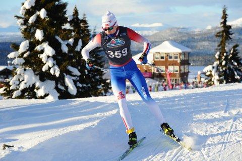 GOD TRENINGSHØST: Johan Unneberg har hatt en god treningshøst og har lyst til å prestere i norgescupen og junior-NM i vinter.