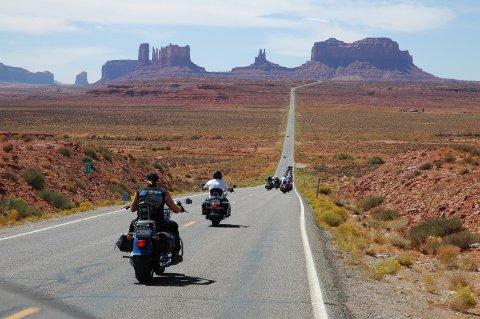 DRØMMEJOBBEN: Dette landskapet skal Svein Iversen kjøre gjennom som guide på Route 66. Turen går fra Chicago til Los Angeles.