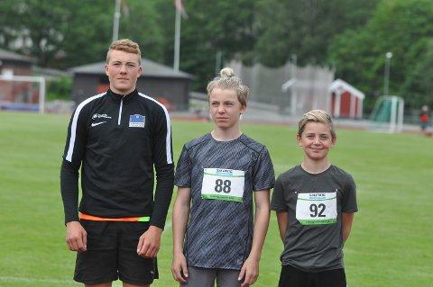 Håkon Wiik, Marcus Jensen, Isak R. Jensen, Aremark IF
