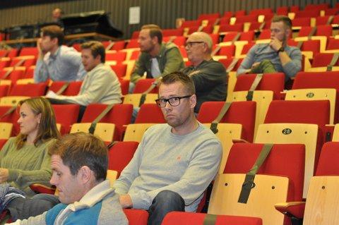 Anders Evensen, leder Comet Bredde, kom med benkeforslag til ny valgkomite.