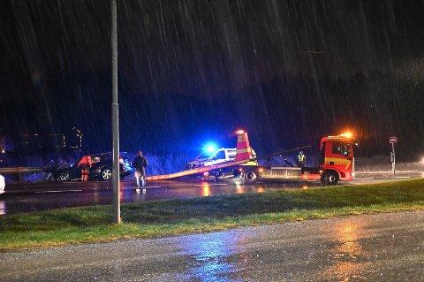 Trafikkuhell ved Sørlifeltet.