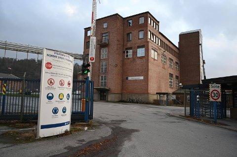 PERMITTERER: Norske Skog Saugbrugs har grunnet arbeidsmangel sett seg nødt til å permittere flere ansatte