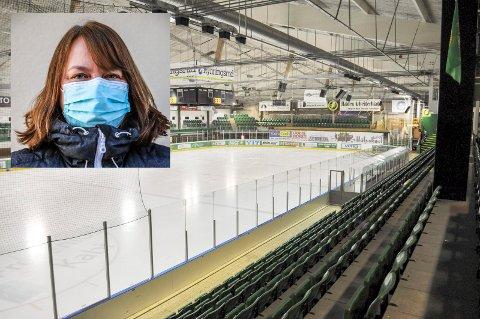 – Ikke aktuelt med Ishallåpning ennå, sier kommuneoverlege Kjersti Gjøsund.