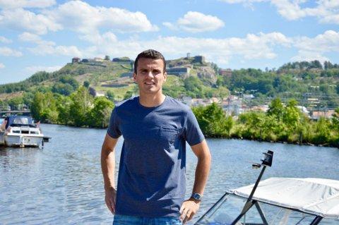 POSITIV: Dardan Sæther-Mehmeti er positiv til både egen og lagets fremtid.